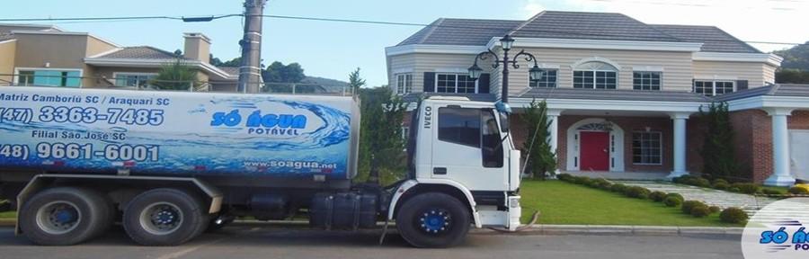 Transporte de água para Residencias